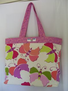 Butterfly Tote-A-TonTote Bag