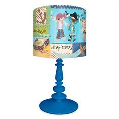 Rosenberry Rooms has everything imaginable for your child's room! Share the news and get $20 Off  your purchase! (*Minimum purchase required.) It's A Pirates Life For Me Lamp #rosenberryrooms