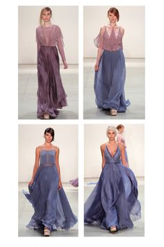 Ethereal purple from Leanne Marshall Spring/Summer 2017 Purple Hues, Period Costumes, Bridesmaid Dresses, Wedding Dresses, Summer Dresses, Formal Dresses, Spring Fashion, Leanne Marshall, Feminine