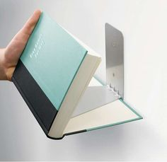 Floating Literature Holders - The 'Conceal Book Shelf' Makes One a Reading Magician (GALLERY)