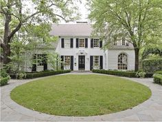 For Sale: Historic Home by Wilson Fuqua and Cathy Kincaid - The Glam Pad Architecture Design, Dallas Real Estate, Black Shutters, White Houses, Classic House, My New Room, Historic Homes, Exterior Design, Exterior Paint