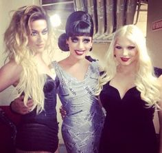 Adore Delano, Bianca Del Rio, and April Carrion. Bianca always looks stunning, but Adore is lookin fierce in this pic.