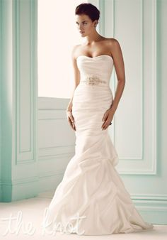 Check out this #weddingdress: 1651 by Mikaella via iPhone #TheKnotLB from #TheKnot