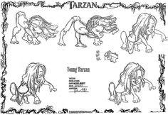 Living Lines Library: Tarzan (1999) - Little Tarzan