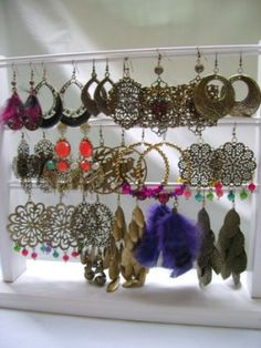 earings! I WOULD LOVE FOR THIS TO BE MY COLLECTION!!!! FABULOUS