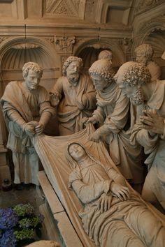 Death of the Virgin Mary - Abbaye Saint Pierre de Solesmes - France