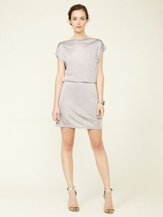 Nichel Jersey Pocket Mini Dress by Crop by David Peck at Gilt