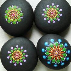 New mandala stones in progress