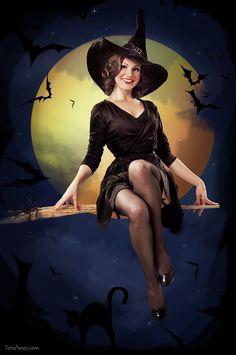 Olga witch  by Julia Timohina