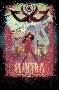 Elektra #7 by Mike Del Mundo *