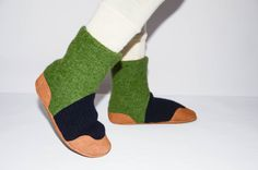 Kids Slipper Socks Toddler Shoes Children Eco Friendly by Woolby, $46.00