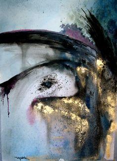 Lilit Avetyan ~ Absorption (watercolor)