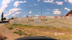Drivelapse Route 66 - Timelapse From Chicago to LA in 3 Minutes on The Mother Road! Route 66 Road Trip, Road Trips, Historic Route 66, Roadside Attractions, Back Road, Urban Landscape, Luxury Travel, Geography, Country Roads