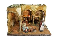 O Portal, Fair Grounds, Painting, Travel, Nativity Sets, Nativity Scenes, Towers, Little Cottages, Birth