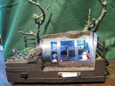 ▶ ANDERSON AIR RAID SHELTER SCHOOL PROJECT WW2 MODEL by METAMORPHICWONDERS - YouTube