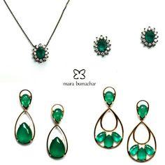 Varias opções com a nossa pedra verde na loja virtual!!! #mairabumachar