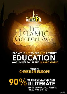 At that time, [Kaafir] Europe had only 2 universities, Muslim Spain [al-Andalus/Andalusia] alone had 17 great universities. Córdoba, the heart of Islamic Spain was the most modern city in Europe, while the Islamic capital of Baghdaad being the greatest city in the world. The Islamic world was estimated to have nearly 500 Universities before the Mongol invasion (1438.3.2 H Infographic; Ad-Dawlah al-Islaamiyyah; Did You Know?) #IS