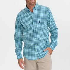 The perfect button-down for those unexpected chilly summer nights.