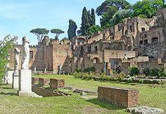 Roma - Casa de las Vestales.
