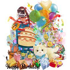 """Happy Birthday Elena!!!!!!"" by anapuzar on Polyvore"