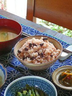 adzuki‐bean rice, Japanese breakfast
