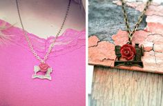 GroopDealz | Vintage Inspired Sewing Machine Necklace