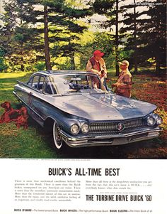 1960 Buick LeSabre - BUICK'S ALL-TIME BEST - Original Ad