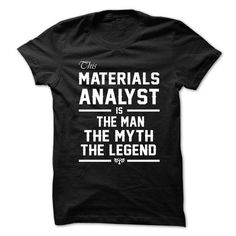 Love being -- MATERIALS-ANALYST T-Shirts, Hoodies (21.99$ ==► Order Here!)