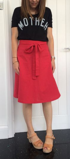 Claire's Miette skirt - sewing pattern by Tilly and the Buttons