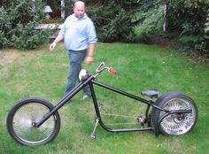 chopper bicycles | AtomicZombie Bikes, Trikes, Recumbents, Choppers, Ebikes, Velos and ...