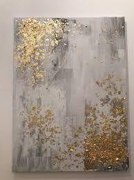 Resultado de imagen de silver abstract paintings
