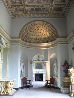 Chiswick House, London - The  Gallery...