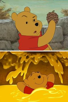 It's not easy being Pooh.