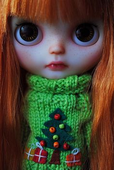 Blythe Look who's ready for Xmas | Flickr - Photo Sharing!