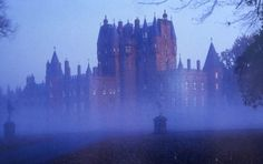 Glamis Castle - supposedly the prettiest and most livable castle in Scotland.