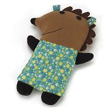 Cozy Craft Hedgehog Heatable Warmer Kid Childs Bed Night Time Toy Cute Sleep NEW