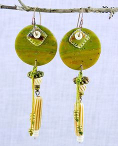RESERVE FOR TC  Silken Tent Earrings  Polymer by storiestheytell, $38.00