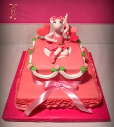Angelina Ballerina Cake - Andjelina balerina torta by Balerina Torte Jagodina