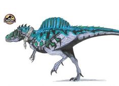 Spinorex Lenght: feet long Height: feet tall tons Mix between Spinosaurus, and T-rex Prehistoric Wildlife, Prehistoric World, Prehistoric Creatures, Jurassic World Hybrid, Jurassic Park World, Science Fiction Games, Hybrid Art, Dinosaur Pictures, Falling Kingdoms