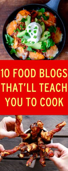 Food blogs that will help you learn how to cook