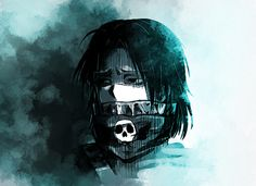 Feitan - Hunter X Hunter. ALSO KNOWN AS THE ASSASSIN VERSION OF LEVI
