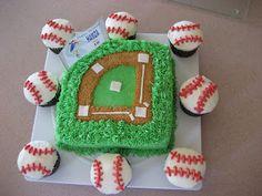 Caketivity: Baseball Birthday cake