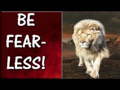 How To Be Fearless In Life | INSPIRING TIPS That Will Help You Become Fe... Social Bookmarking, Medical Advice, How To Become, Watch, Videos, Tips, Inspiration, Faith, Biblical Inspiration