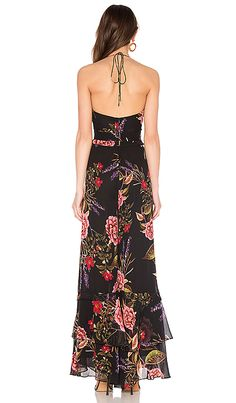 Peony Floral Spiral Jumpsuit, view 4