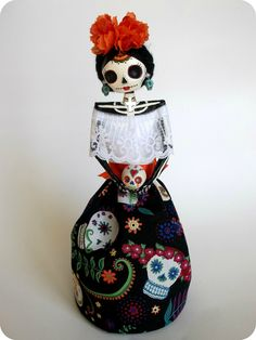 Paper Mache Catrina. https://www.etsy.com/listing/196872729/day-of-the-dead-themed-paper-mache?ref=shop_home_active_1