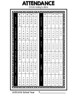 Updated for 2015-16 School Year! Want a better way to track data? This sheets is ready to print and aligned for 3 hole punch! Place in a students speech folder or portfolio and have them track their own attendance! I use this as a backup to my own attendance!
