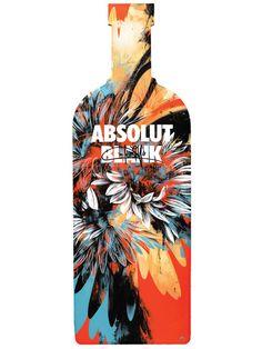 Lovely absolut bottle