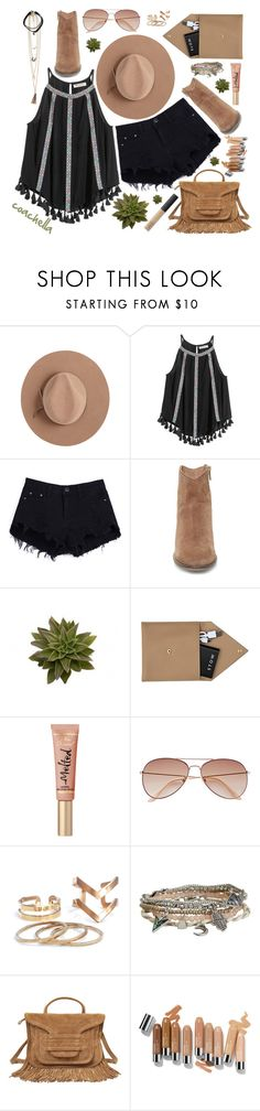"""Hello, Coachella!"" by deeyanago ❤ liked on Polyvore featuring Satya Twena, Steve Madden, STOW, H&M, Aéropostale, Pierre Hardy, NARS Cosmetics, coachella, wildwest and coachella2016"