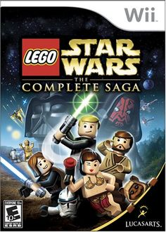 Lego Star Wars: The Complete Saga - Nintendo Wii ... He talks a lot about Star Wars, and its a well liked game!