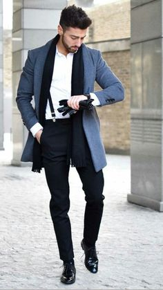 36 The Most Cool Casual Winter Fashion Outfits For Men - Mens Fashion - Fashion Formal Winter Outfits, Winter Mode Outfits, Winter Fashion Casual, Casual Winter, Mens Winter, Fashion Black, Winter Hats, Casual Outfits, Mode Masculine